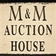M&M Auction House and Estate Sales Logo