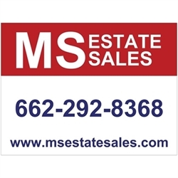 MS ESTATE SALES Logo