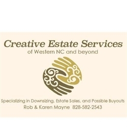 Creative Estate Sales Logo