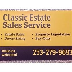 Classic Estate Sales Service Logo