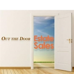 Out The Door Estate Sale Logo