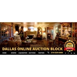 Dallas Online Auction Block Logo