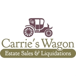 CARRIE'S WAGON Estate Sales & Liquidations Logo