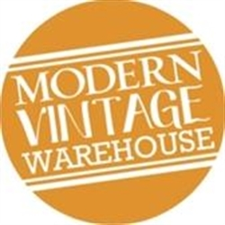 Modern Vintage Warehouse Logo