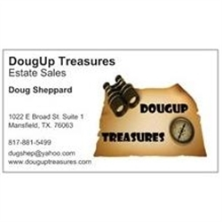 Dougup Treasures Logo