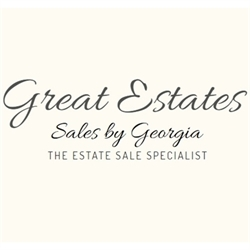 Great Estates Sales By Georgia Logo