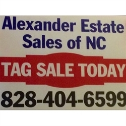 Alexander Estate Sales Of NC