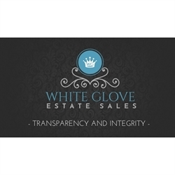 White Glove Estate Sales, Inc. Logo