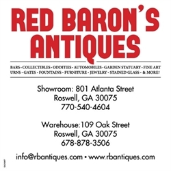 Red Baron Antiques Logo