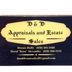 D And D Estate Sales Logo