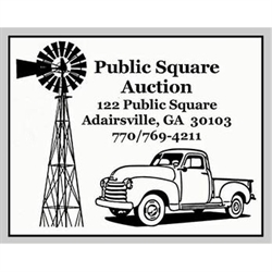 Public Square Auction Logo
