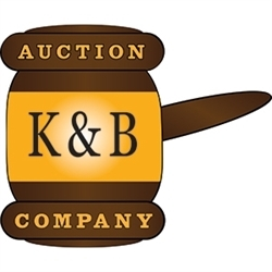 The K And B Auction Company Logo