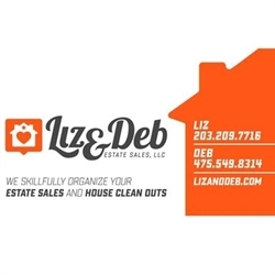 Liz & Deb Estate Sales, LLC Logo