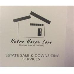 Retro House Love Socal Logo