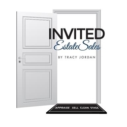 INVITED ESTATE SALES By Tracy Jordan Logo
