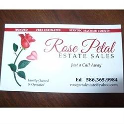 Rose Petal Estate Sales LLC Logo