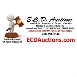 Ecd Auctions & Estate Sales Logo