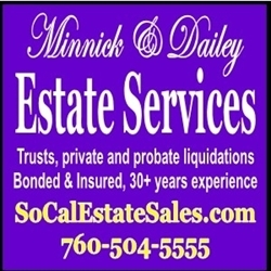 Minnick & Dailey Estate Services Logo