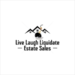 Live Laugh Liquidate, Estate Sales Logo