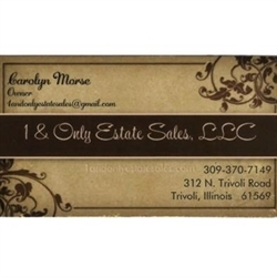 1 & Only Estate Sales LLC Logo