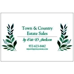 Town & Country Estate Sales By Eric D Jackson Logo