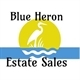Blue Heron Estate Sales Logo