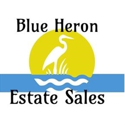 Blue Heron Estate Sales Logo