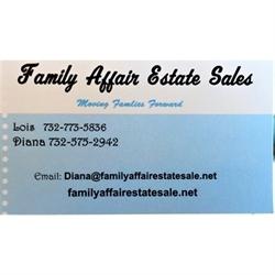 Family Affair Estate Sale