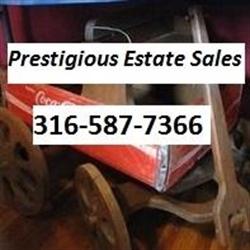 Prestigious Estate Sales Logo