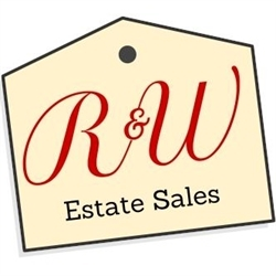 R & W Estate Sales Logo