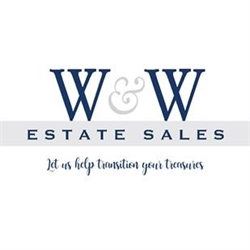W&W Estate Sales Logo