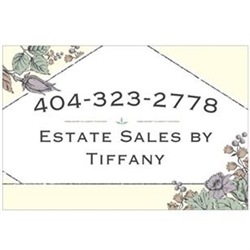 Estate Sales By Tiffany Logo