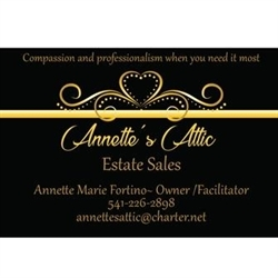 Annette's Attic Estate Sales Logo