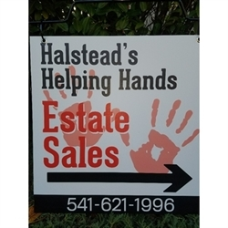 Halstead's Helping Hands Estate Sales Logo