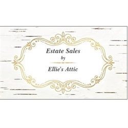 Estate Sales By Ellie's Attic Logo