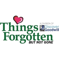 Things Forgotten But Not Gone - A Division Of Discover Goodwill Logo