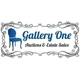 Gallery One Auctions and Estate Sales Logo