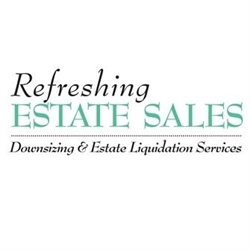 Refreshing Estate Sales Logo