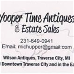 Yoopertime Antiques & Estate Sales Logo