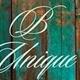 B Unique Vintage Estate Sales Logo
