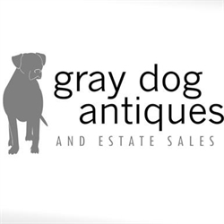 Gray Dog Antiques And Estate Sales Logo