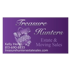 Treasure Hunters Estate And Moving Sales Logo