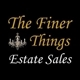 The Finer Things Estate Sales Logo