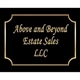 Above and Beyond Estate Sales LLC. Logo