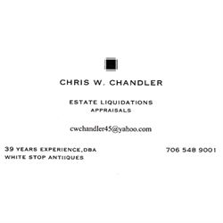 Chris Chandler, Estate Liquidations