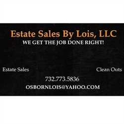 Estate Sales By Lois, LLC