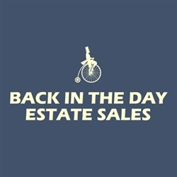 Back In The Day Estate Sales Logo