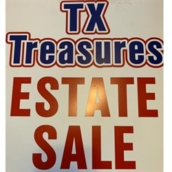 Texas Treasures Estate Sales Logo