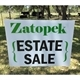 Zatopek Estate Sales Logo