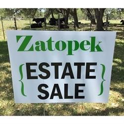 Zatopek Estate Sales